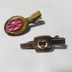 Jewelry - Vintage Hair Clips Tie Clips Women's Accessories